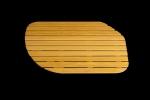 NPR 120/80/26 R (Настил асимметрия в душевой поддон) (Настил аси