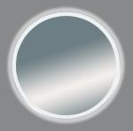 Неон - Зеркало LED 700х700 сенсор на корпусе (круглое)