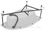Каркас сварной для акриловой ванны Aquanet Mia140x80 L/R