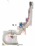 Сифон ORIO для ванны с переливом,сгибкой трубой A -40089