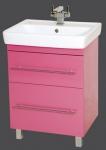 Тумба Елена 60см розовый