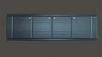 Экран для ванн МДФ венге L=1500/1700